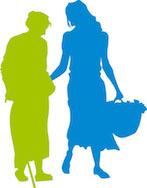 Un agent à domicile pour aide aux personnes agées